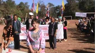 Hmong New Year: Ban Rakpaendin School, Chiangrai Province, Thailand