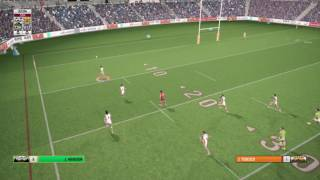 James Tedesco try, Rugby League Live 4