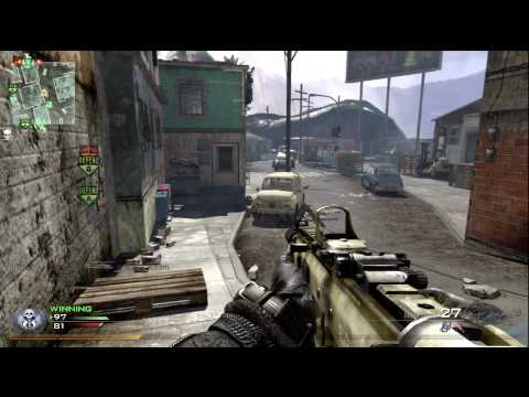 Call Of Duty: Modern Warfare 2 - Check out my T Shirts!: http://www.thesandyravage.com/shop/ Playing domination. First day with the game, still learning the map. Chopper Gunner killstreak ha...