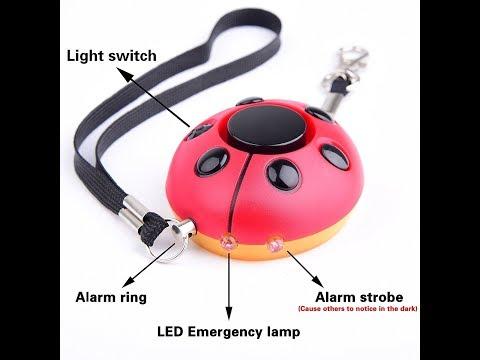 Emergency Personal Alarm Keychain