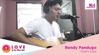 Rendy Pandugo on Love Is In The Air - I Don't Care
