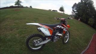 11. 2012 ktm 150 sx walk around