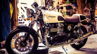 1. Triumph Thruxton First Oil Change