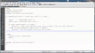 PHP Tutorials: Register&Login (Part 14): Email Activation (Part 3)