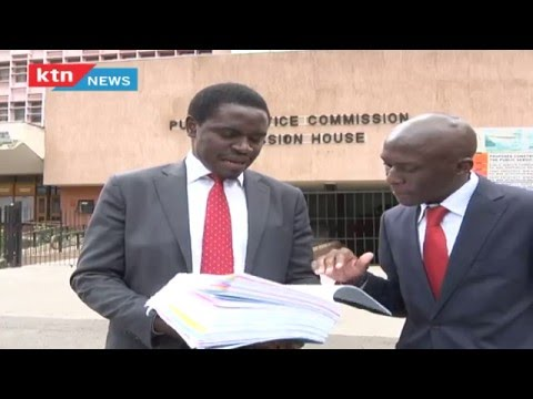 Lawyer files an affidavit seeking removal DPP Tobiko from office