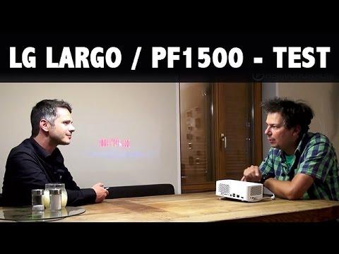 LG Largo Test Demo Funktionen ... der 100 Zoll Fernseher für die Hosentasche