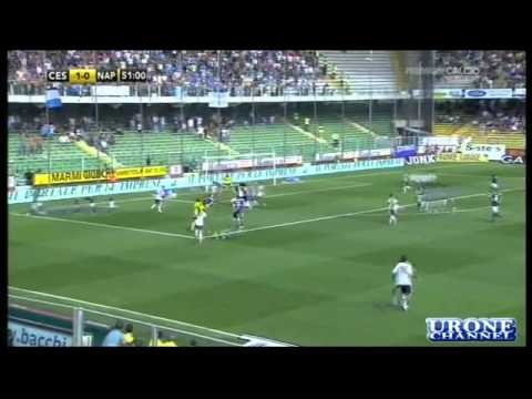 Cesena-Napoli 1-4 'Auriemma' Ampia Sintesi 26-09-2010 Video HQ.flv