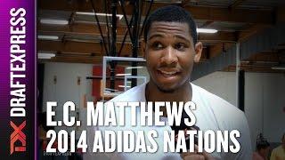 2014 E.C. Matthews Interview - DraftExpress - Adidas Nations