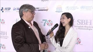 Relatora da ONU entrevista Cláudio Salgado