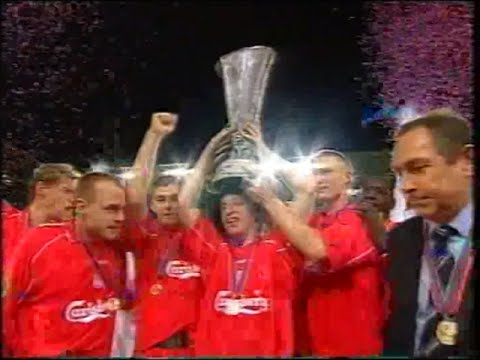 Liverpool 5 Alaves 4 16/05/2001