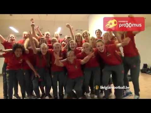 Red Flames vieren EK-kwalificatie