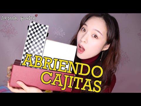 [ARIANA BONITA] ABRIENDO CAJITAS & Cómo comprar COSMÉTICOS COREANOS en su país │ Belleza Coreana