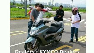 3. 2008 KYMCO Xciting 250  Engine Top Speed