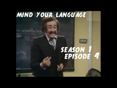 Mind Your Language - Season 1 Episode 4 - All Through The Night | Funny TV Series
