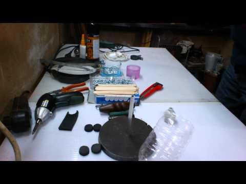 Kendin yap deveboynu masa lambası 2/1 camelneck shape tabletop lamp 2/1