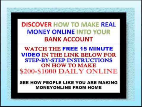 How I Make Money Online 100% free opportunity  money online make