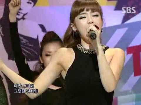 2NE1 – In the club @ SBS Inkigayo 인기가요 090913