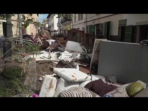Todesopfer und Vermisste durch Sturzregen auf Mallorc ...