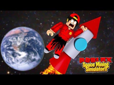 ROBLOX - SPACE MINING SIMULATOR!!