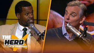 Stephen Jackson says he was better than Ray Allen, talks Kuzma as LeBron's #2 | NBA | THE HERD by Colin Cowherd