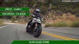 3. 2016 Triumph speed triple r vs 2016 kawasaki z1000- specifications