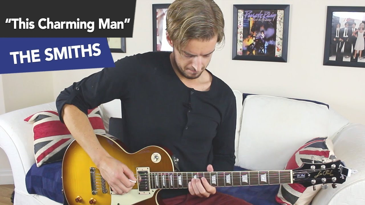 How to play This Charming Man like Johnny Marr Guitar Tutorial [Intermediate/ Advanced]
