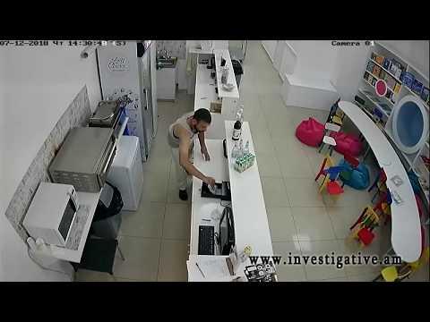 Գողություն՝ երևանյան սրճարաններից մեկի դրամարկղից (տեսանյութ)