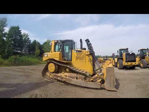 CATERPILLAR TRACK TYPE TRACTORS D6TXL equipment video f0vuNEePJpQ