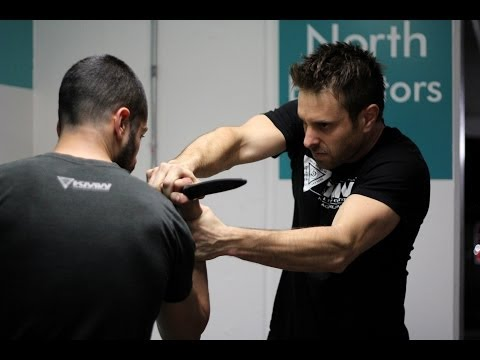 Knife Threat Defense – Krav Maga Technique – KMW Krav Maga Self Defense w/ AJ Draven