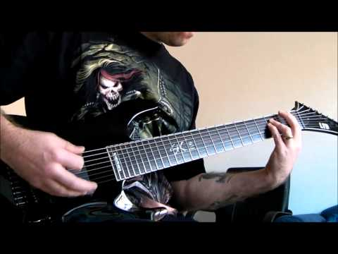 LTD SC-608B - Distant - Original 8 string guitar song