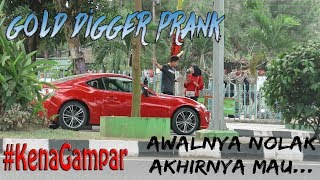 "Video PRANK CEWE MATREK GONE WRONG?! *Sampe Kena Tampar* ""Gold Digger Prank Indonesia"" MP3, 3GP, MP4, WEBM, AVI, FLV Mei 2019"