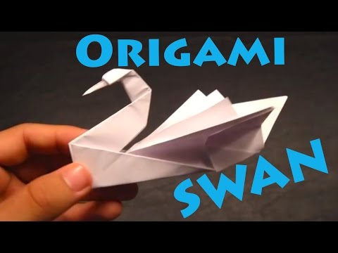 how to make an origami swan intermediate robs world