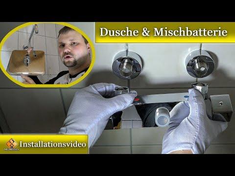 """Dusche mit Thermostat montieren - So wird´s gemacht.. / """"Homelody""""Dusche 🚿"""