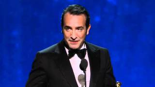 Nonton Jean Dujardin Wins Best Actor  2012 Oscars Film Subtitle Indonesia Streaming Movie Download