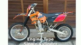 7. 2008 KTM XC 450 W (R) Features