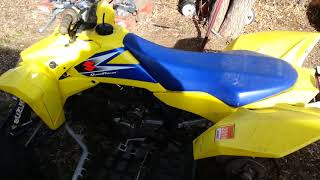 3. 5 years of owning a 2006 Suzuki LTR450
