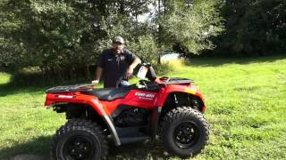 6. 2013 Can-Am Outlander 400!