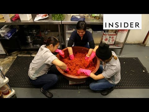 How Kimchi Is Made