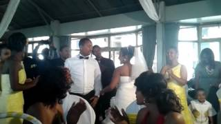 Addishiwot&Haile's,Ethiopian, First Wedding Dance The Craziest Couples Ever