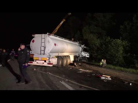 Жахлива ДТП на Житомирщині , 9 загиблих і 11 травмованих. ВІДЕО