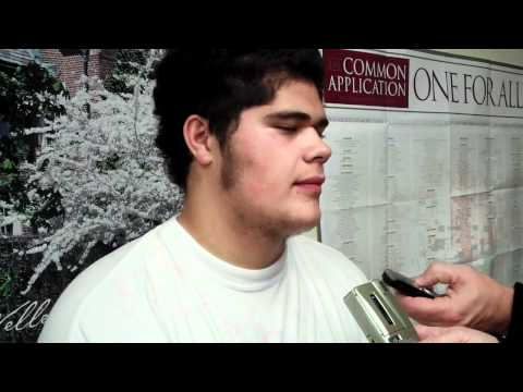 Isaac Seumalo Interview 2/1/2012 video.