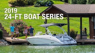 5. Yamaha's 2019 24-Foot Boats Featuring The 240 and 242 Series