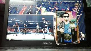 Nonton WWE SmackDown 11 April 2017 Full Show(Part 1) Film Subtitle Indonesia Streaming Movie Download