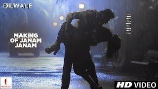 Dilwale | Making of Janam Janam | Kajol, Shah Rukh Khan | A Rohit Shetty Film Video
