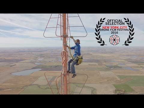 Climbing The World's Tallest Radio Tower
