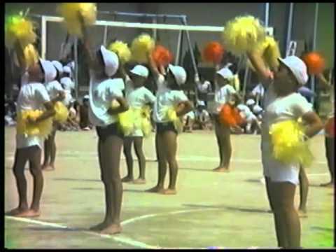 古前小学校春季大運動会1985