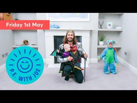 PE With Joe   Friday 1st May