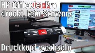 Hier der Link zum Artikel ► http://tuhlteim.de/hp-officejet-pro-druckt-kein-schwarz-nicht-mehr-druckkopfproblemDer HP OfficeJet Pro in diesem Video druckt die Farben scheinbar einwandrei, Schwarz wird aber überhaupt nicht mehr gedruckt. Die schwarze Patrone ist neu und voll, es erscheint aber kein Tropfen schwarze Tinte auf dem Papier.Bei einigen HP OfficeJet Druckern, wie bei diesem 8500 Pro sind die Druckköpfe einzeln bzw. paarweise nachkaufbar und sind somit ein Verbrauchsartikel. Auf den Köpfen ist ein Datum aufgedruckt, anhand dessen man sehen kann, wie alt der Kopf ist.Lest den kompletten Artikel mit Video auf Tuhl Teim DE mit zusätzlichen Tipps, Bildern und InfosDie Webseite von Tuhl Teim DE ► http://tuhlteim.de▼ ▼ ▼   ERSATZTEILE  &  GERÄTE   ▼ ▼ ▼Die Hewlett-Packard Druckköpfe bekommt Ihr hier  ►  http://amzn.to/2qjTgy7  [*]HP 940XL Multipack C2N93AE (vier Patronen)  ►  https://goo.gl/8aIweI  [*]Druckkopfreiniger könnt Ihr hier kaufen  ►  https://goo.gl/o8X0TZ  [*]oder diese alternativen Düsenreiniger  ►  https://goo.gl/S701nU  [*]HP 953XL Tintenpatronen Schwarz, Cyan, Magenta, Gelb  ►  https://goo.gl/Ap5vtV  [*]HP 364 Tintenpatronen N9J73AE im Viererpack  ►  https://goo.gl/lMPFjt  [*]HP 932XL/933XL Multipack C2P42AE  ►  https://goo.gl/BMzvUH  [*]Den HP 950XL/951XL Multipack C2P43AE gibt es hier  ►  https://goo.gl/AzmhcL  [*]HP 920XL Multipack C2N92AE (vier Farben) gibt es hier  ►  https://goo.gl/JLbdrz  [*]HP934XL/935XL Tintenpatronen  ►  https://goo.gl/7PWrgJ  [*]HP903XL Black und 903XL CMY-Tintenpatronen  ►  https://goo.gl/ZUCNs9  [*]▼ ▼ ▼   TIPPS  &  TRICKS   ▼ ▼ ▼Grundsätzlich sollten Tintenstrahldrucker regelmäßig benutzt werden. Einmal die Woche etwas in Farbe ausdrucken oder kopieren verhindert, dass das Tintensystem eintrocknet. Unten am Kopf trocknet mit der Zeit Tinte fest, wenn das Gerät nicht benutzt wird. Das Gleiche gilt auch für die Patronen. Bei einigen Druckern wird die Tinte in den Patronen mit der Zeit weniger flüssig. Bei Patronen mit d