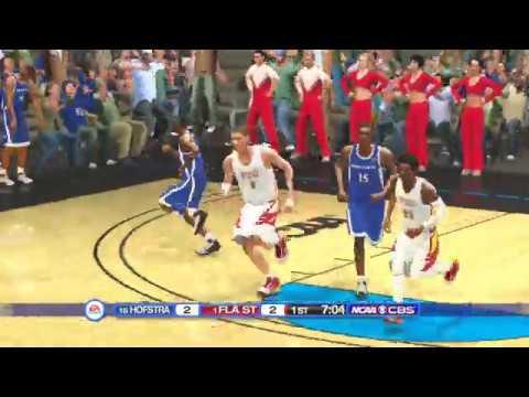 (NCAA Basketball 20) NCAA Tournament 1st Round (Hofstra Pride vs Florida State Seminoles) PS3