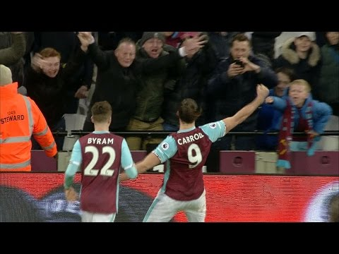Video: West Ham thrash Crystal Palace in 3-0 win